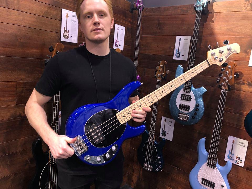 Music Man Short Scale StingRay bass namm 2