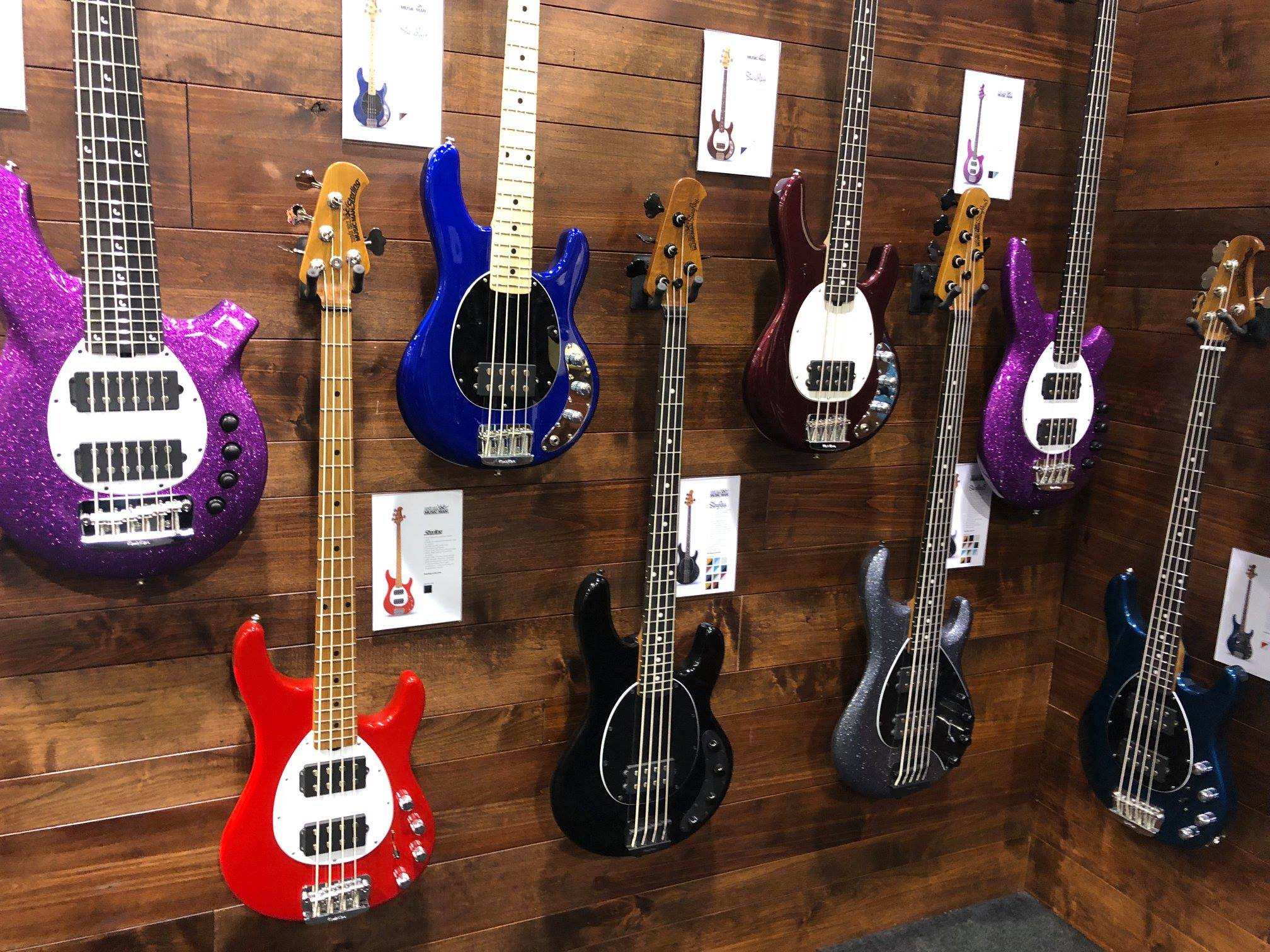 Music Man Short Scale StingRay bass namm