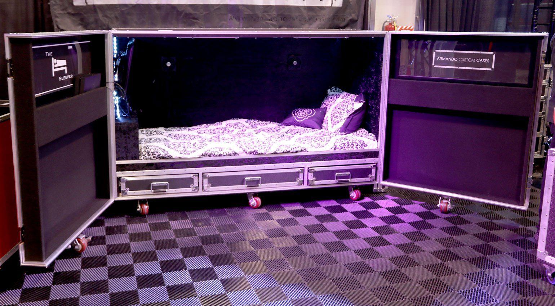 NAMM 2019: Bett im Case