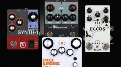 NAMM-2019-Keeley-announces-new-Synth-1-DDR-Fuzz-Bender-amp-Eccos