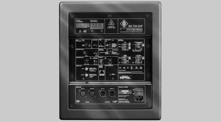NAMM 2019: Neumann KH 750 DSP - der kompakte Subwoofer