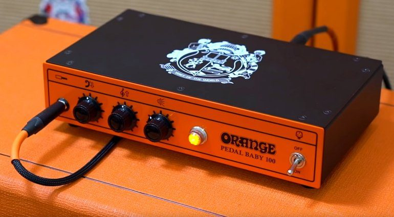 Orange Pedal Baby 100 Topteil