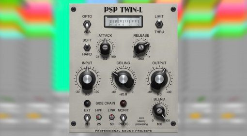 PSP Audioware Twin-L - zwei Limiter in einem Plug-in