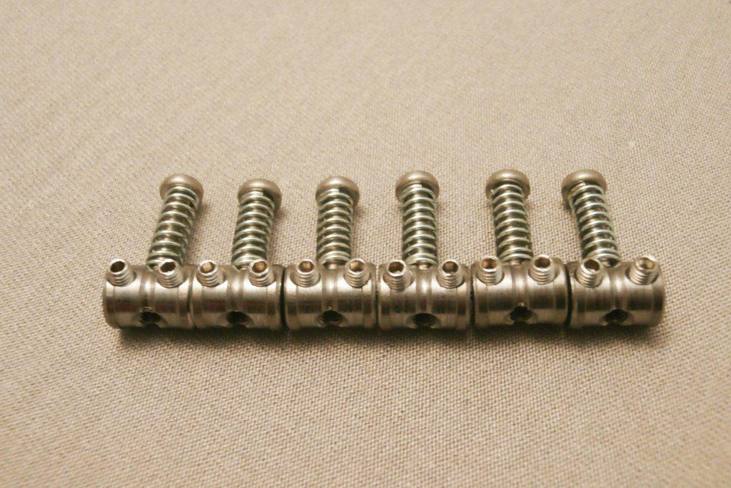Halon Guitar Parts replacement-saddles-GR.5-Titanium