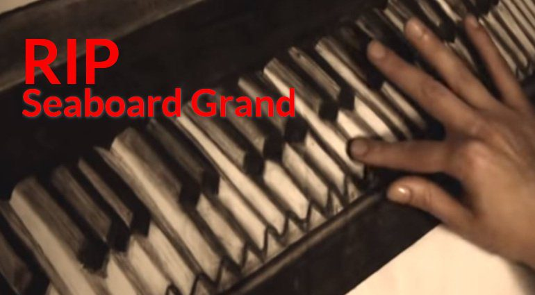 RIP Roli Seaboard Grand Controller Synthesizer