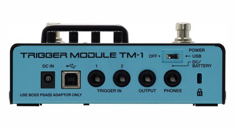 Roland TM-1 Drum Trigger-Modul Rückseite