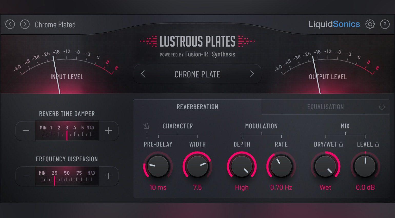 NAMM 2019: Slate Digital & LiquidSonics Lustrous Plates