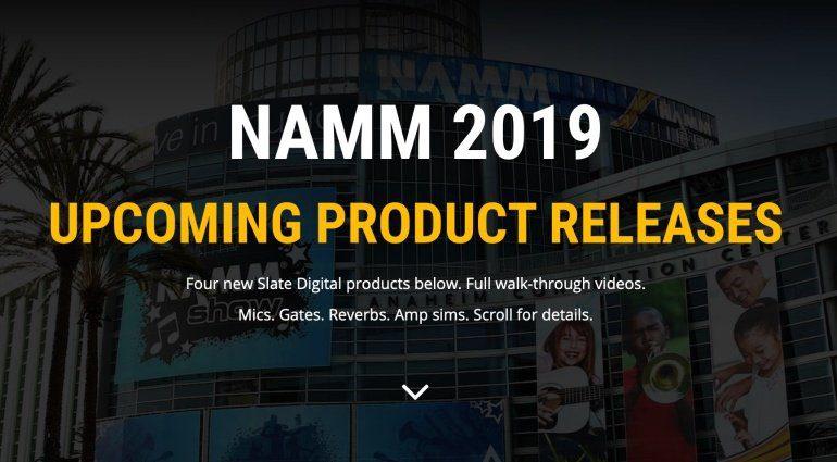 NAMM 2019: Slate Digital bringt vier neue Plug-ins