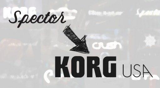 Spector Basses goes Korg USA