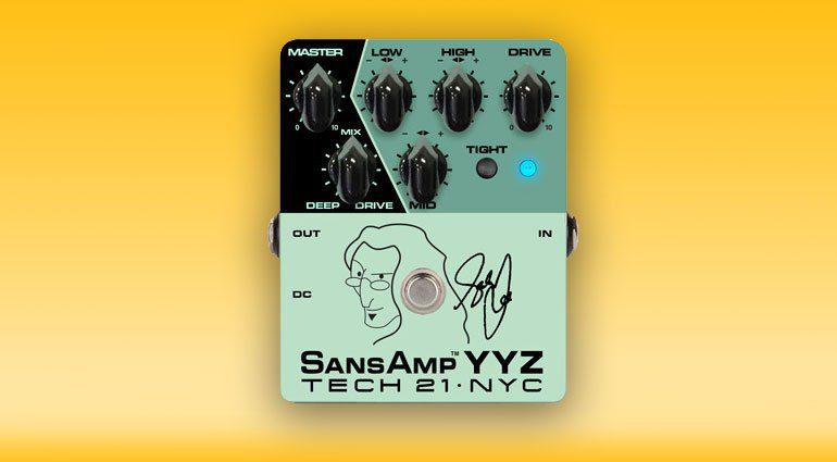 Tech21 SansAmp YYZ