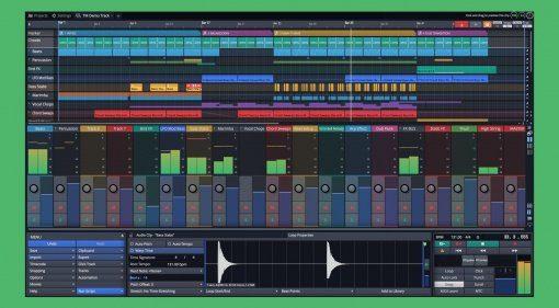 Tracktion Waveform (hier noch Version 9)