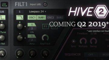 U-He schickt Hive in die zweite Runde - Hive 2.0 kommt!