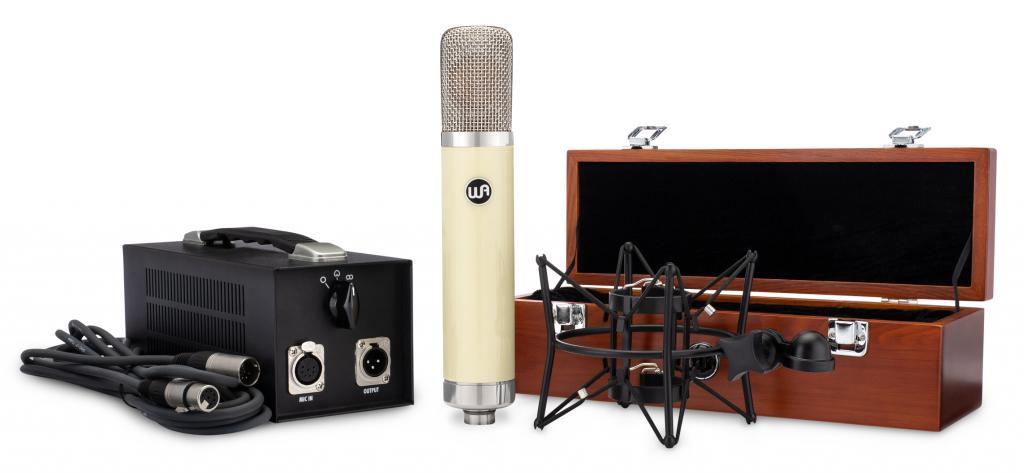 Warm Audio WA 251 Mikrofon Set Box Netzteil