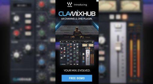 NAMM 2019: Waves teasert CLA Mix Hub an - SSL Channelstrip und mehr