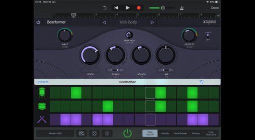 Accusonus veröffentlicht Beatformer für iOS und das für kurze Zeit kostenlos!