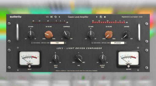 Audiority LDC2 ist eine Emulation eines analogen Opto Kompressors