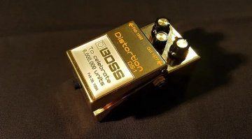 Boss DS-1 Gold Edition Effekt Pedal Auktion