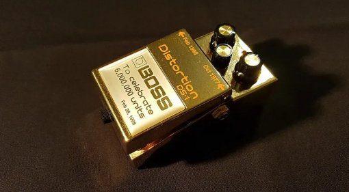 Boss DS-1 Gold Edition Effekt Pedal Auktion
