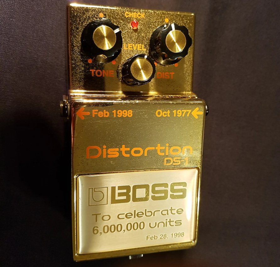 Boss DS-1 Gold Edition Front