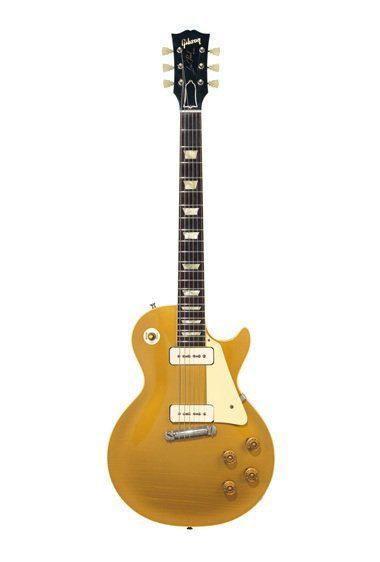 David Gilmour P90 Gibson Goldtop LEs Paul