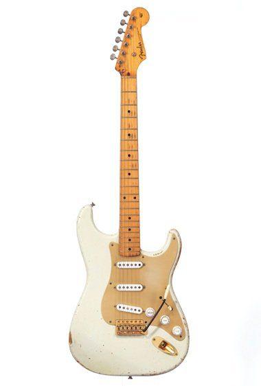 David Gilmour White Fender Stratocaster