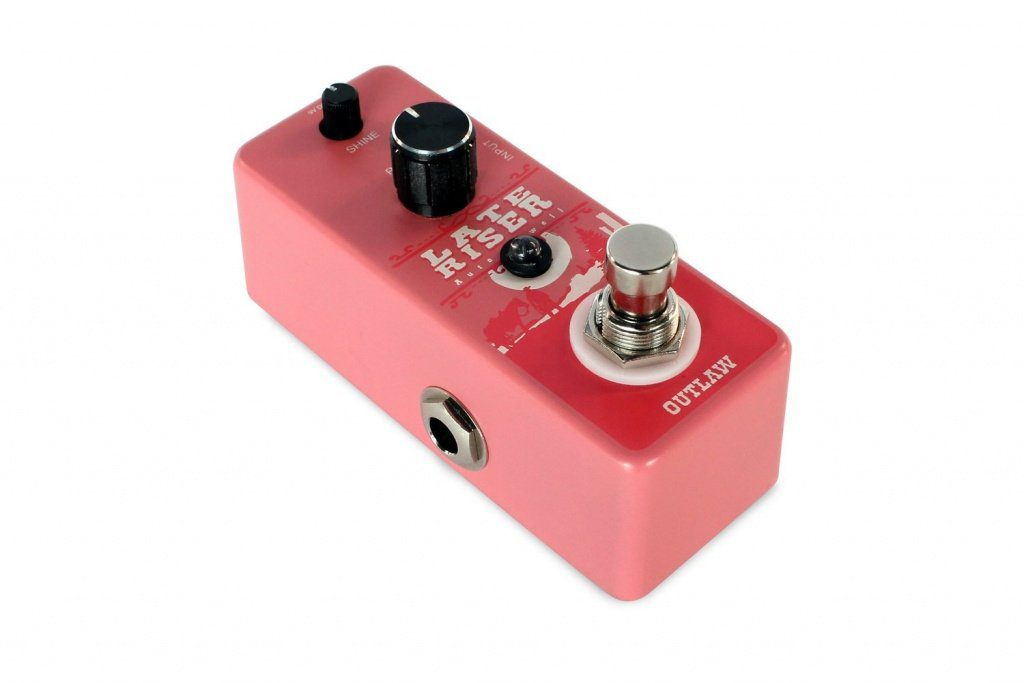 Das Late Riser Auto Volume Pedal von Outlaw Effects