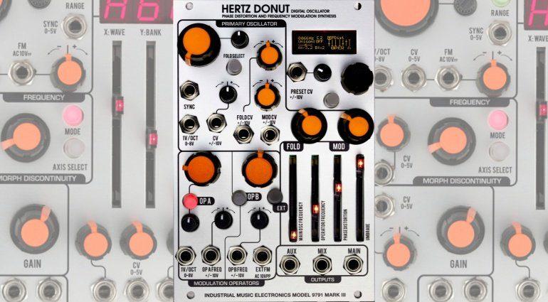 Industrial Music Hertz Donut Mk3