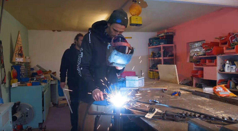 Kliemannsland DIY E-Gitarre schweiß arbeit