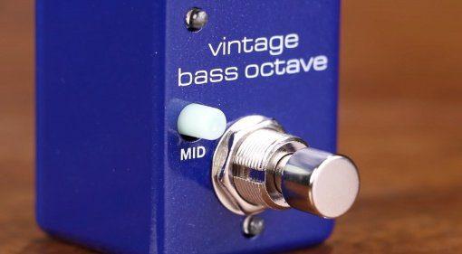 MXR Vintage Bass Octaver Analog Oktaver Pedal Teaser
