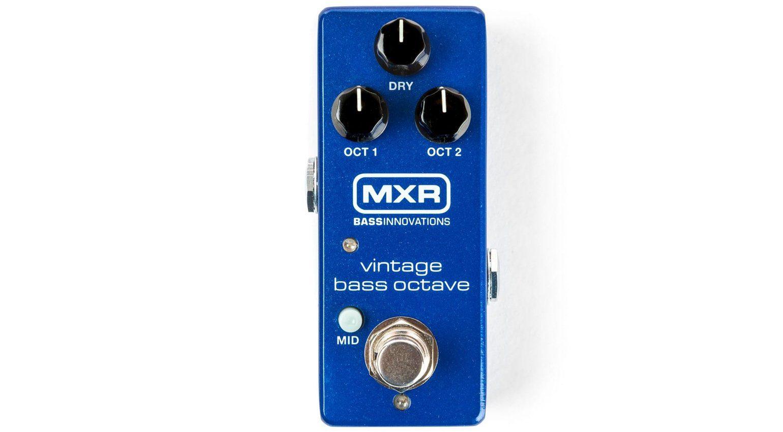MXR Vintage Bass Octaver Analog Oktaver Pedal