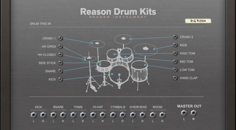 Reason Drum Kits bringt Rock'n'roll in die DAW