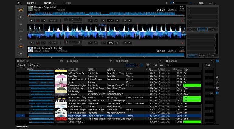 rekordbox DJ-Software