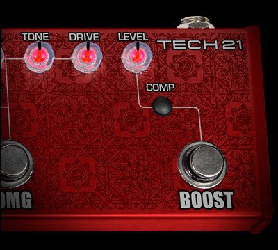 Richie Kotzen RK5 Signature Fly Rig V2 Boost Kompressor