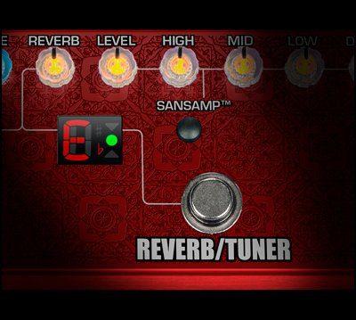 Richie Kotzen RK5 Signature Fly Rig V2 Reverb Tuner
