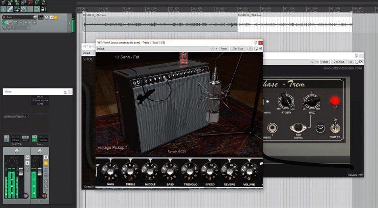 Sknote TwinR ist ein Fender Twin Reverb Amp für den Rechner