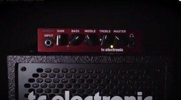 TC Electronic BAM200 Bass Amp Mosfet
