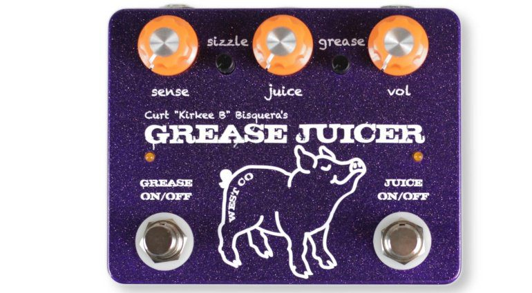 West Co Pedals Grease Juice Fuzz Envelope Filter Pedal Effekt Bass