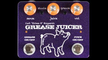 West Co Pedals Grease Juice Fuzz Envelope Filter Pedal Effekt teaser