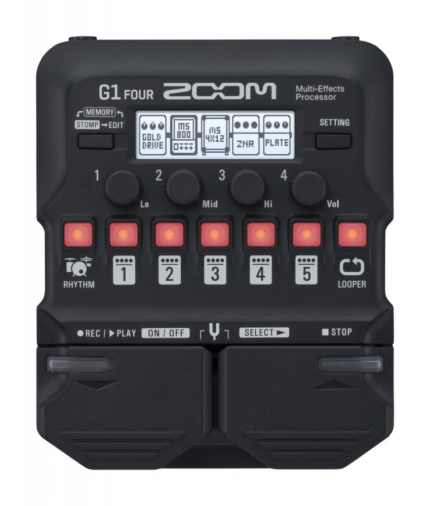 Zoom G1 Four Multi Effekt
