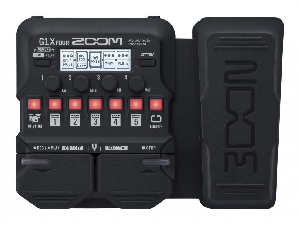 Zoom G1X Four Multi Effekt