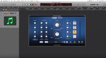 2getheraudio K1CK - günstiger Software Kick Synthesizer mit vielen Extras