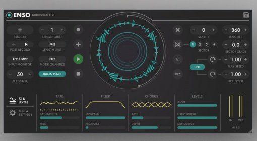 Audio Damage bringt mit Enso einen neuen VST Looper für Live Performer