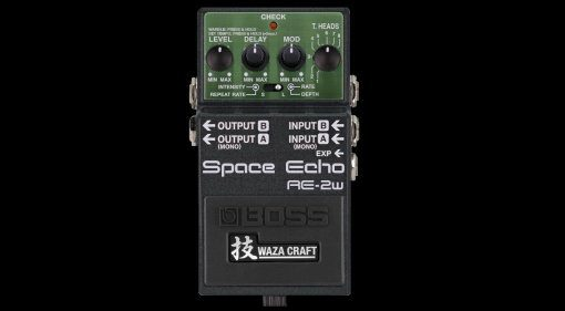 Boss RE-2w Space Echo Waza Craft Tape Delay Teaser