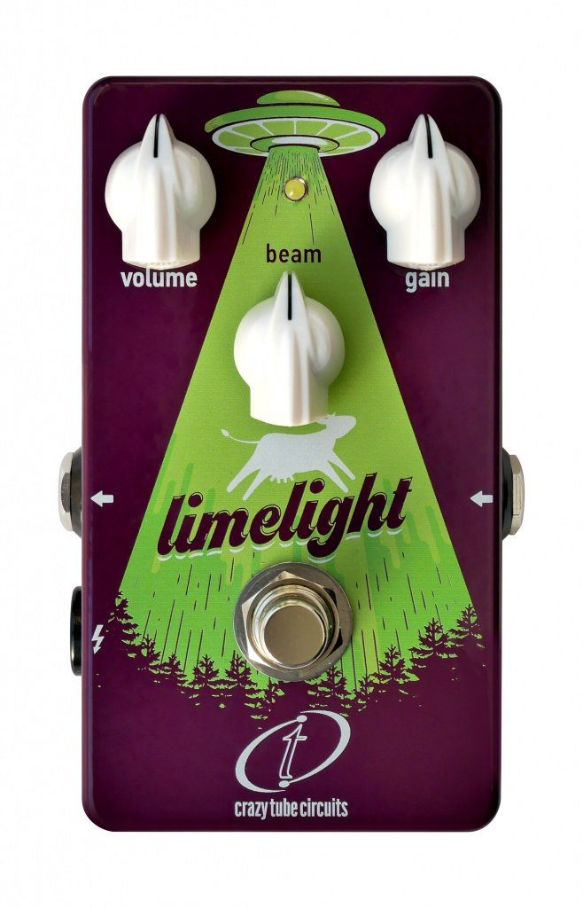 Crazy-Tube-Circuits-Limelight-fuzz-pedal Front