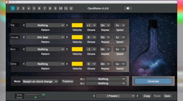 FeelYourSound ChordPotion bringt mehr als Abwechslung in eure MIDI-Daten