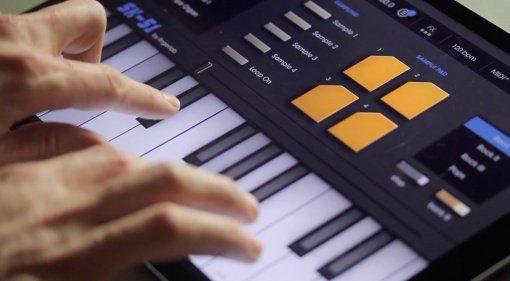 Ein Retro Casio Keyboard für das iPad: Fingerlab SK-51