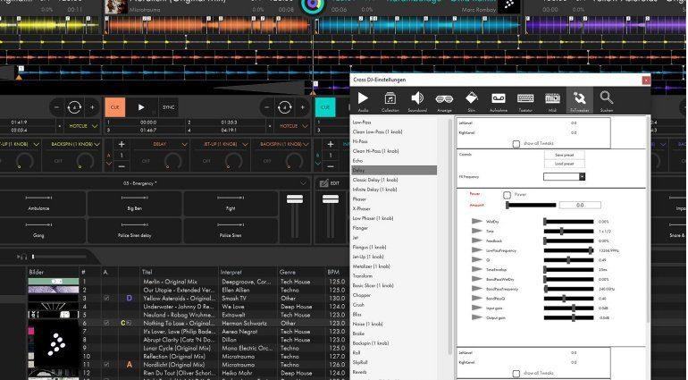 Mixvibes Cross 4 FX Tweaker