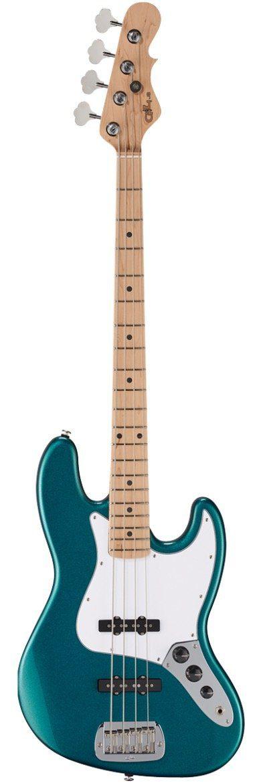 G&L Fullerton Standard Bass Serie USA JB Emeralt Blue copy