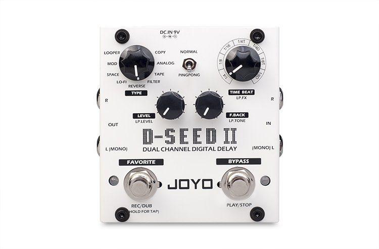Joyo D-Seed II Effekt Pedal Delay