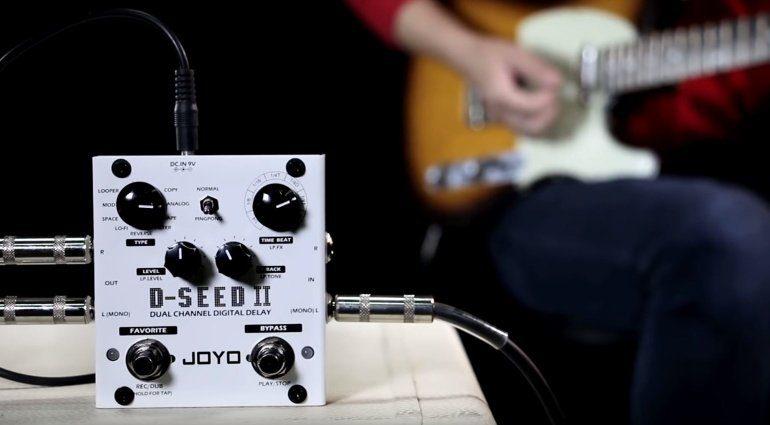 Joyo D-Seed II Guitar Delay PEdal FX